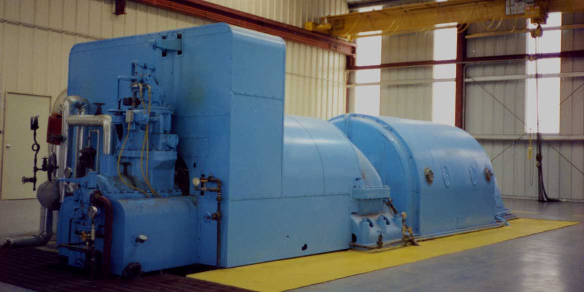 Wellons Electrical Power Generation - Backpressure Turbine